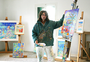 John Dyer in the Studio
